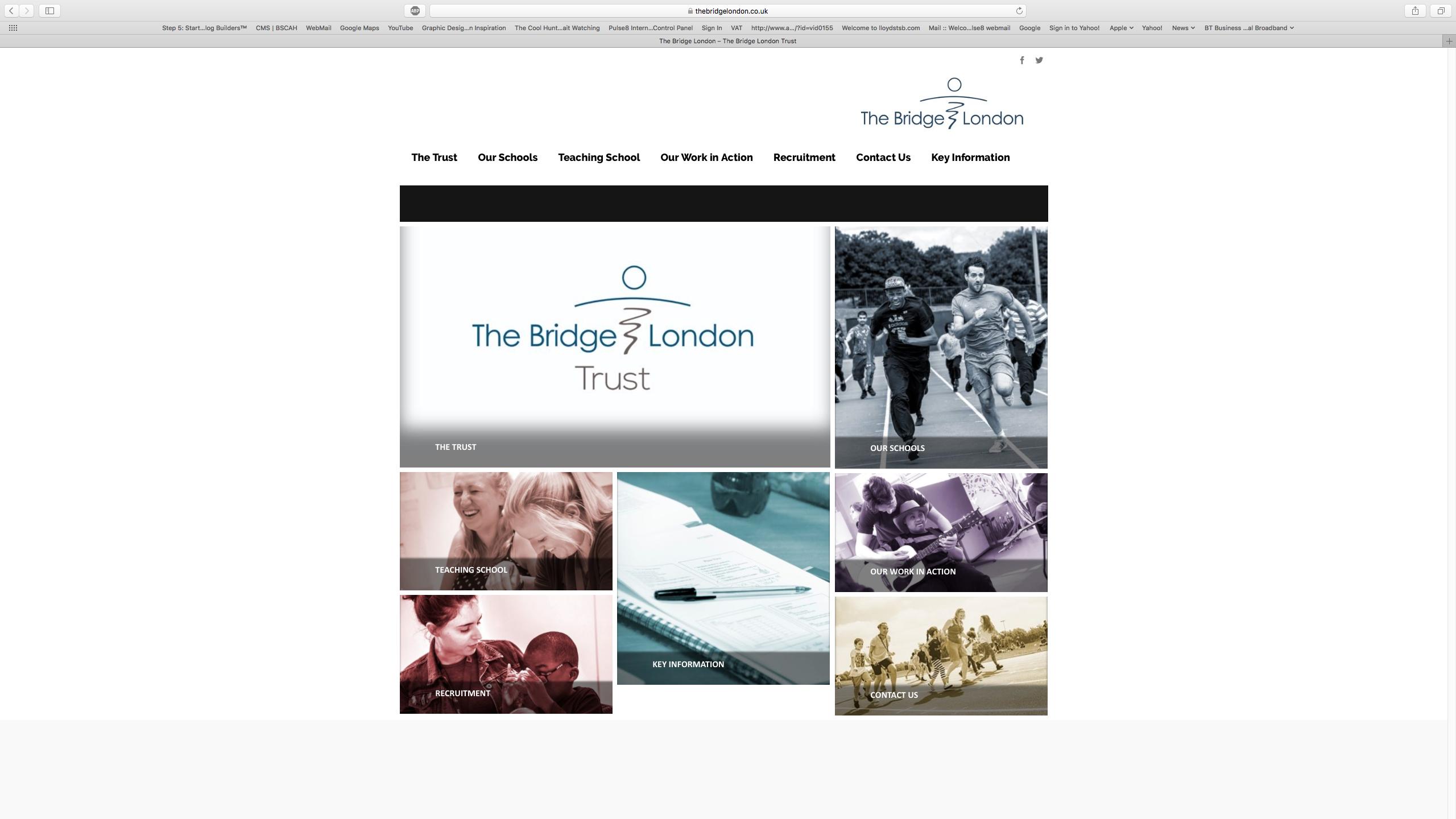 Bridge School Website