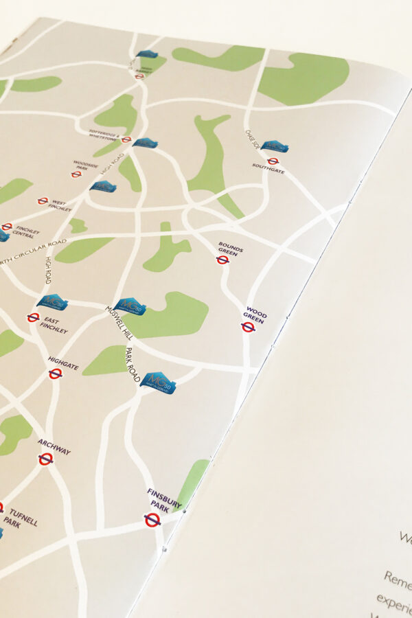 MG Map Vector Illustration